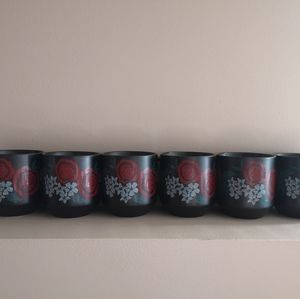 2018 Starbucks Mugs x6 NWT